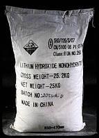 Литий  гидроокись
