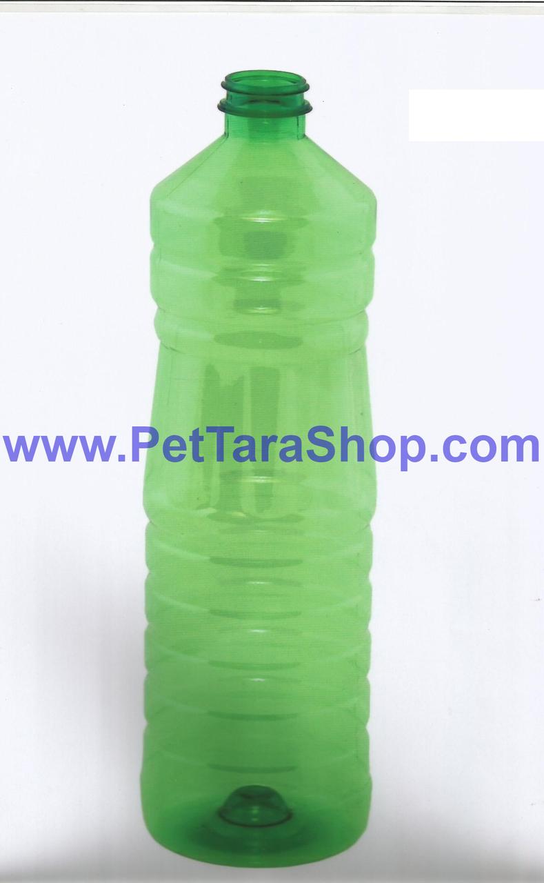 Бутылка ПЭТ под масло Прозрачная 1л с крышкой