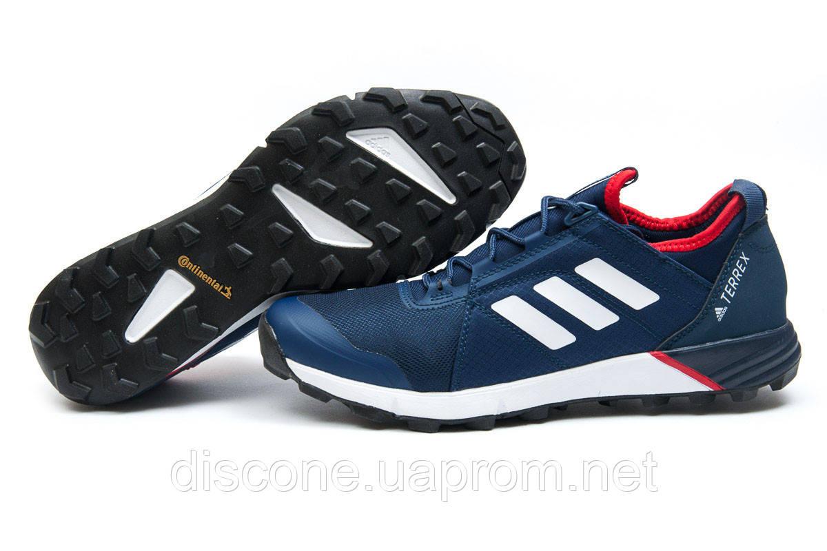Кроссовки мужские 11814 ► Adidas  Terrex, темно-синие ✅SALE! 39% ► [ 42 ]