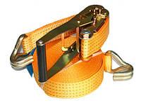 Ремень для крепления жаток и приспособлений к универсальным тележкам для перевозки жаток