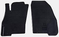 Коврики в салон Fiat Grande Punto 09 (Фиат Гранде Пунто) (2 шт) передние, Stingray
