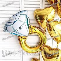 Воздушный шар Кольцо с бриллиантом, фото 3