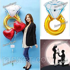 Воздушный шар Кольцо с бриллиантом
