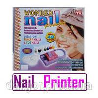 Машинка-принтер для нанесения рисунков на ногти Wonder Nail Printer