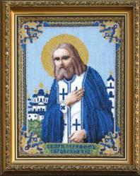 Набор для вышивания крестом Серафима Саровского Чудотворца