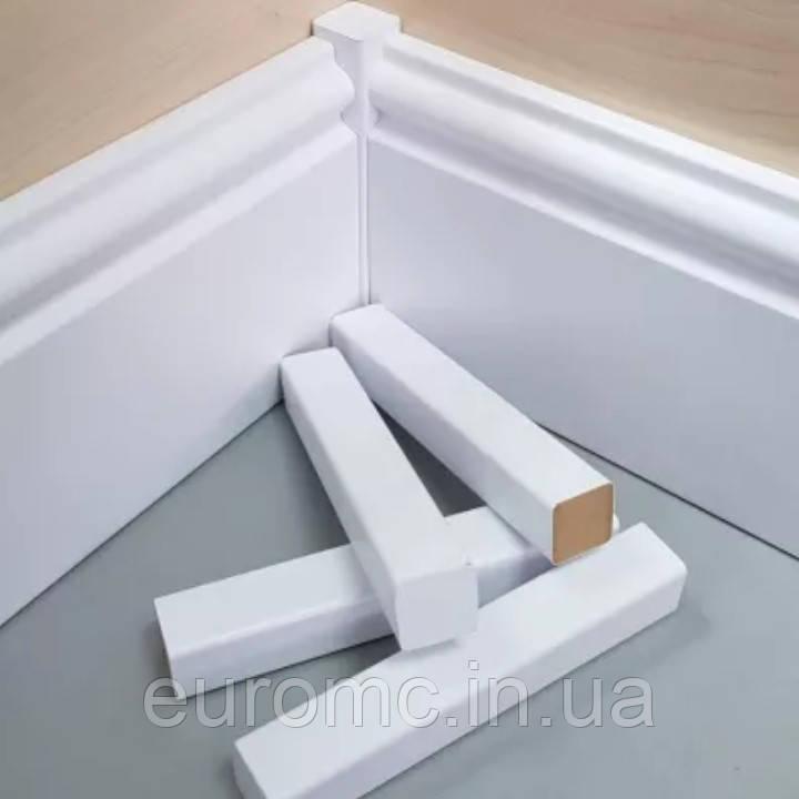 Столбики для плинтуса из МДФ 16х80мм