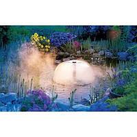 Фонтан для пруда с туманообразователем и подсветкой., фото 1