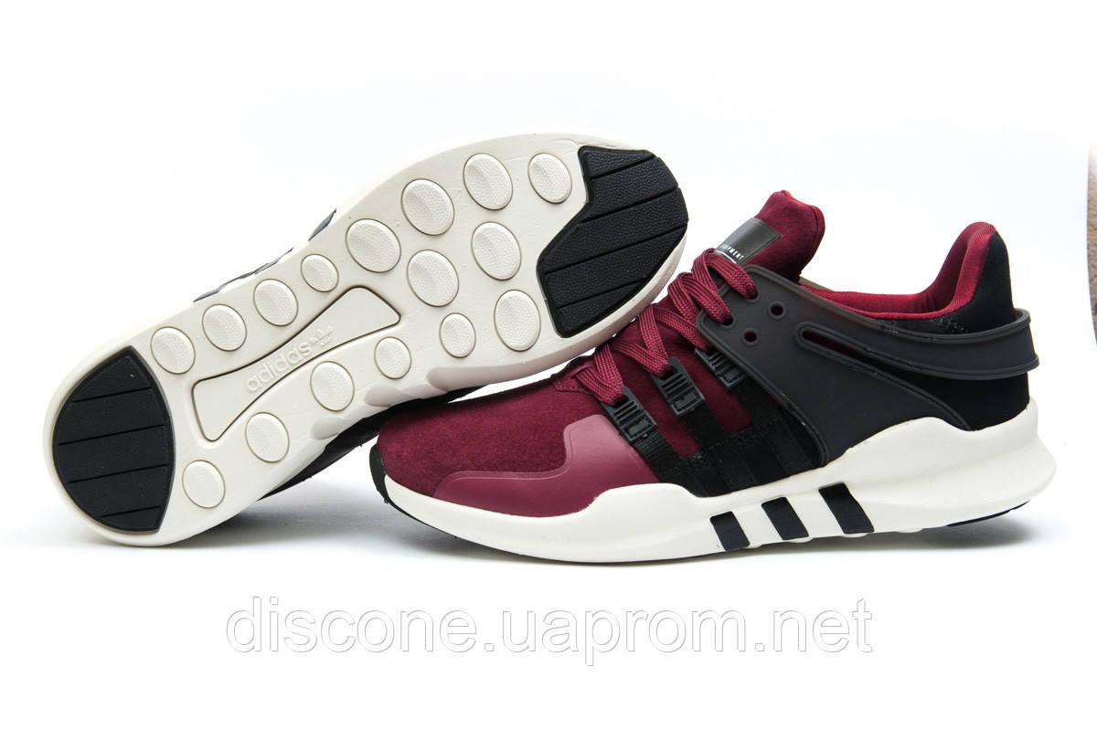 Кроссовки мужские 11996 ► Adidas  EQT ADV/91-16, бордовые ✅SALE! 36% ► [ 41 42 44 ]