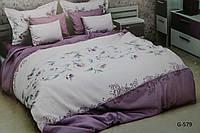Очень красивое постельное бельё из бязи (евро)