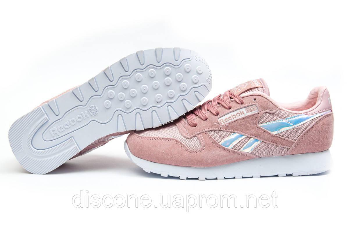 Кроссовки женские 12062 ► Reebok  Classic, розовые ✅Скидка 37% ► [ 37 40 ]