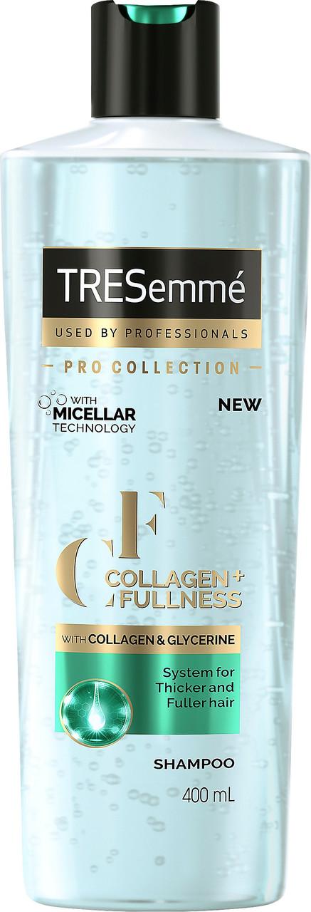 Шампунь для створення об'єму волосся TRESemme Collagen+Fullness Shampoo  400мл.