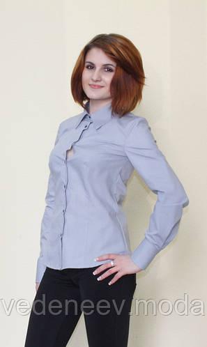 Блуза серого цвета