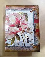 Вместительная Книга-шкатулка с ярким узором, фото 1