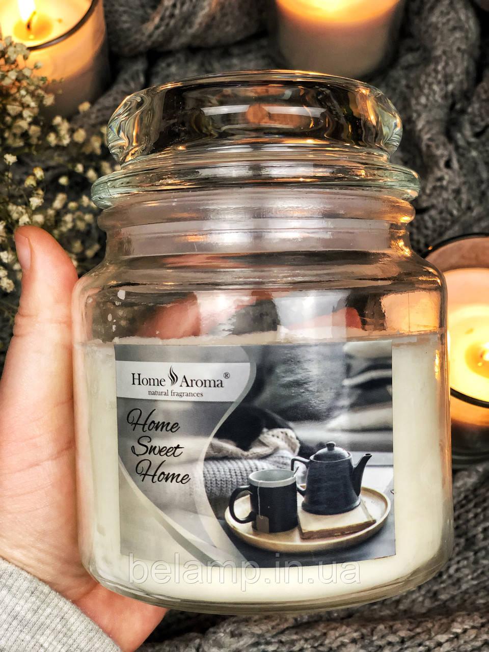 Ароматическая свеча в банке «Уютный дом»