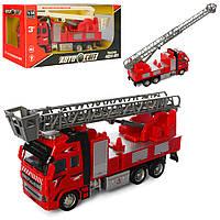 Машинка пожарная AS-1854 АвтоСвіт 1:38, металл, инер-я, 21,5см