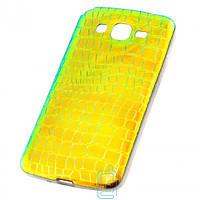 Чехол силиконовый Dekkin Snake Samsung Grand 2 G7102, G7105, G7106 хамелеон Green