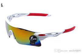 Велосипедные спортивные очки «Rider White»
