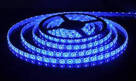 LED 3528 Blue 60 12V без силикона