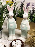 Пасхальный кролик в мятном костюме (Цена за 1 зайца), фото 1