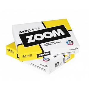 Бумага Zoom, class C, белизна 150% CIE, 80g/m2, A4, 500л
