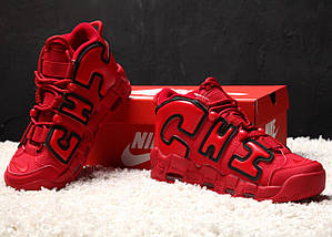 Мужские кроссовки Nike Air More Uptempo X Chicago Red, фото 2