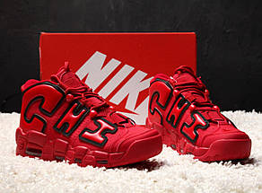 Мужские кроссовки Nike Air More Uptempo X Chicago Red, фото 3