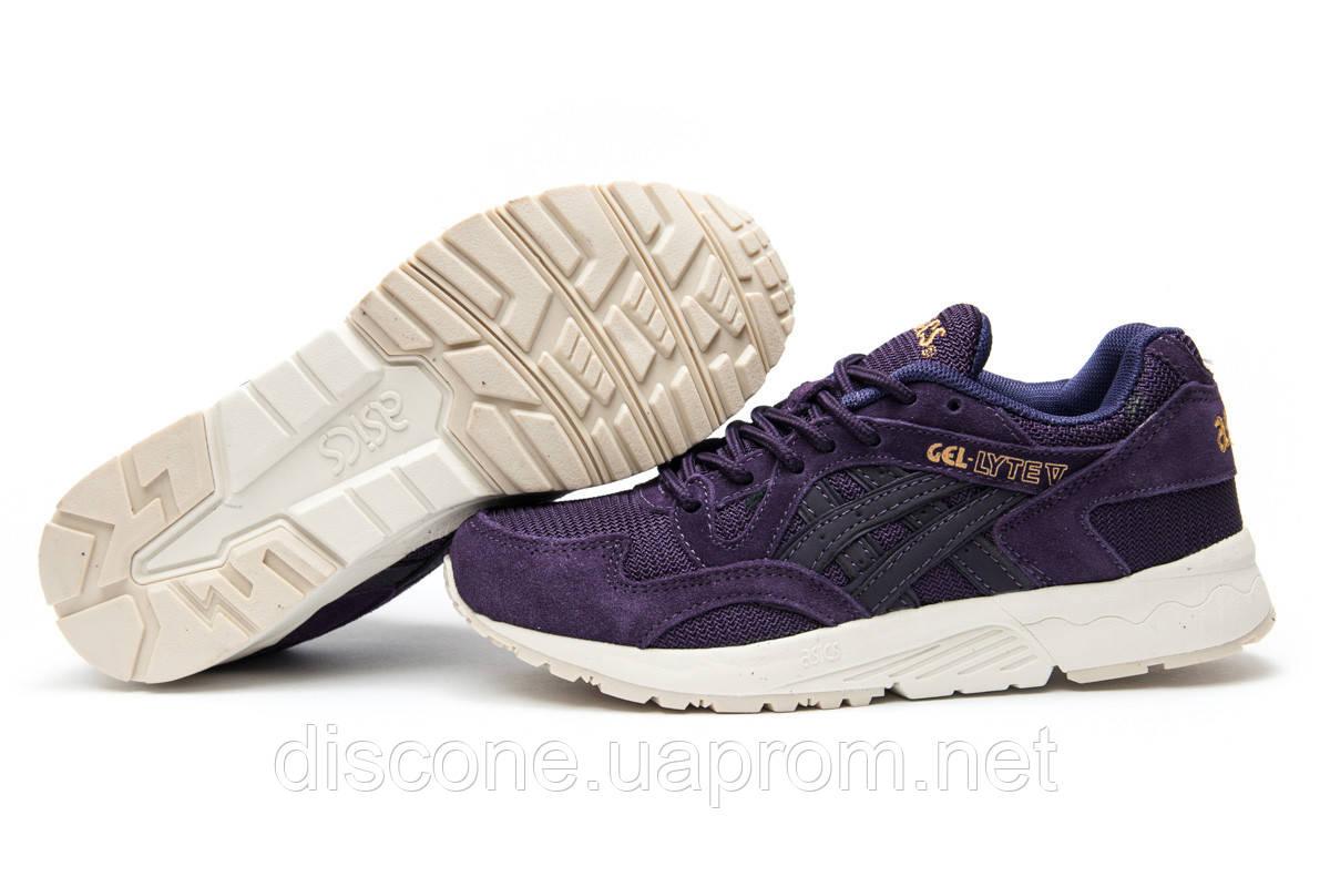 Кроссовки женские ► ASICS Gel Lyte V,  фиолетовые (Код: 12512) ► [  36 37  ] ✅Скидка 36%