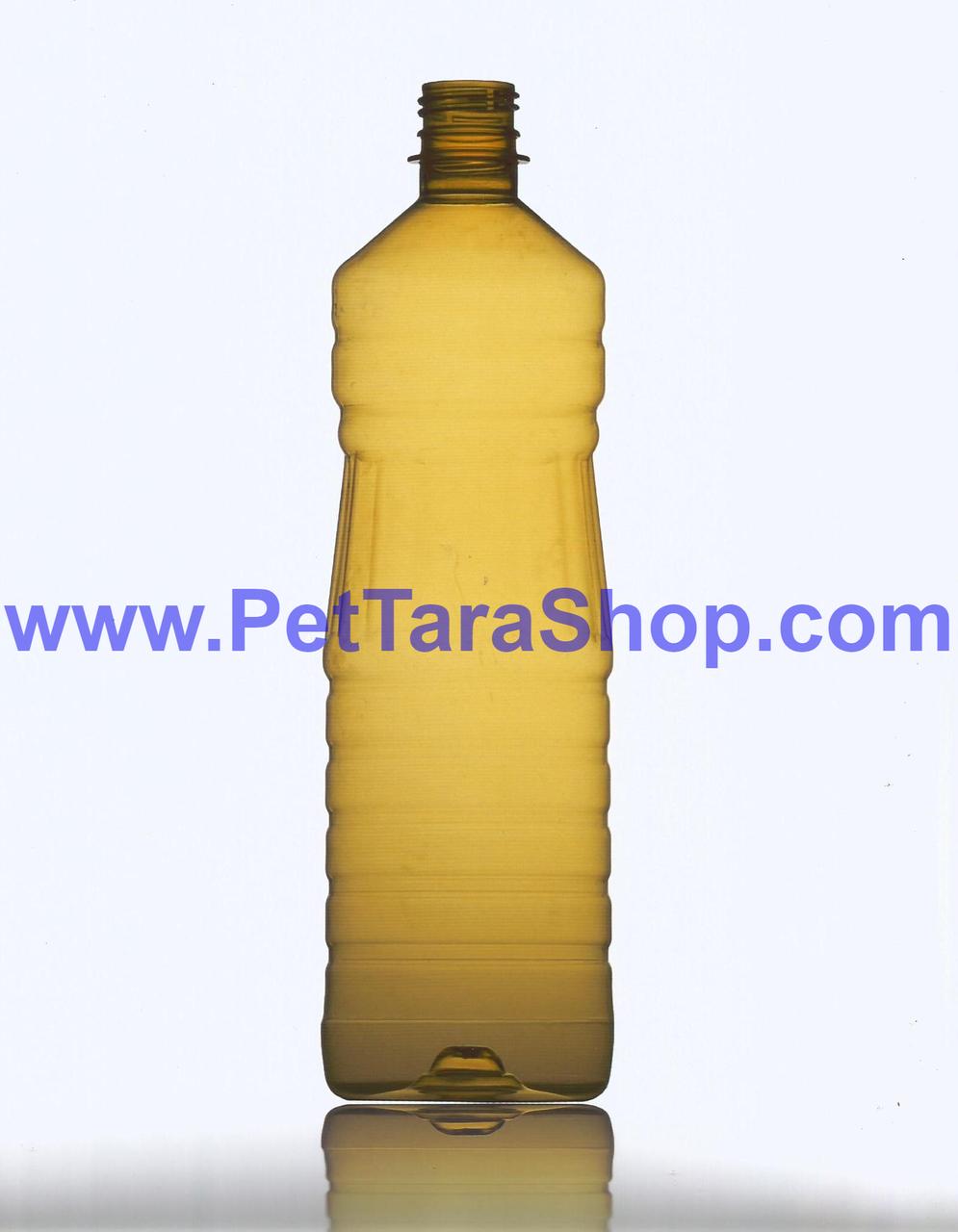 Прозора пластикова Пляшка 1л з кришкою