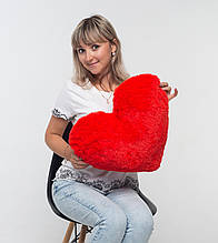 Красное сердце для девушки 50 см