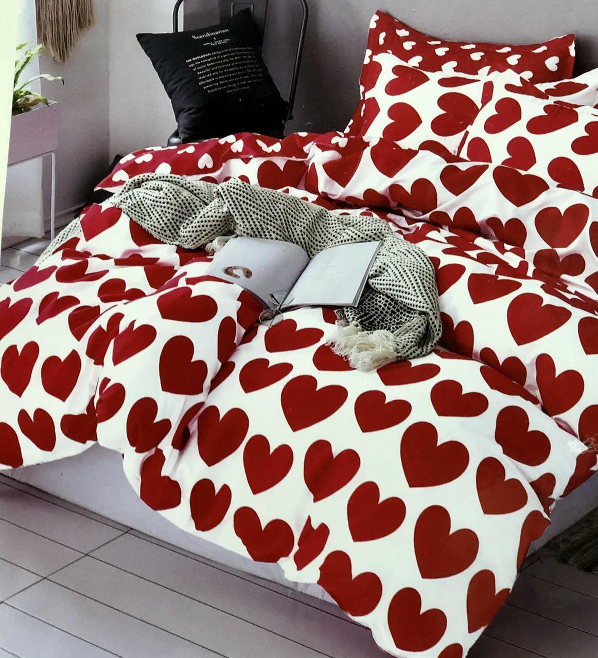 Комплект постельное белье фланель 5D 180×200 двушка