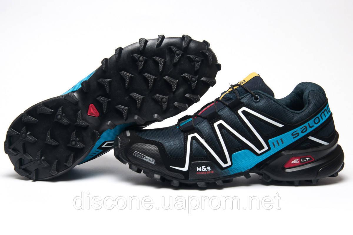 Кроссовки мужские ► Salomon Speedcross 3,  темно-синие (Код: 11221) ► [  41 (последняя пара)  ] ✅Скидка 34%