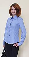 Рубашка женская голубого цвета от производителя