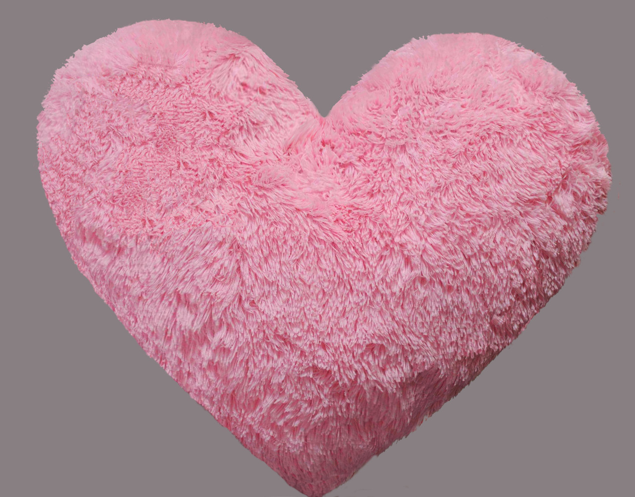 Сердце-подушка розовое (Плюшевое) 30 см