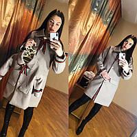 Пальто family look, детское пальто, женское пальто в стиле фэмили лук , фемили лук