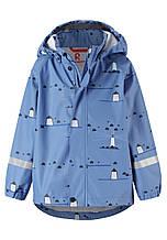 Куртка-дождевик демисезонная для мальчика Reima 521523-6551. Размеры 98-134.