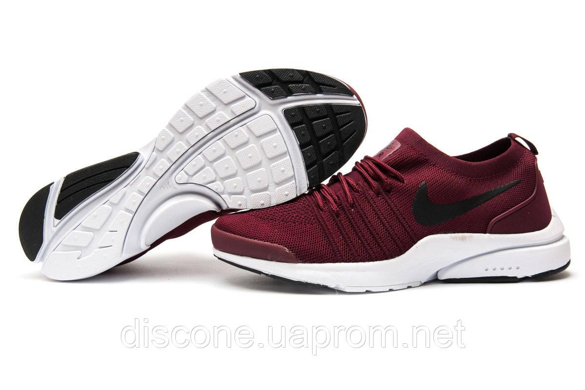 Кроссовки мужские 12552 ► Nike Air, бордовые ✅Скидка 39% ► [ 41 ]