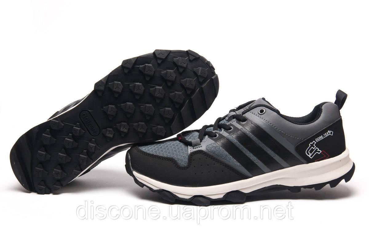 Кроссовки мужские 11342 ► Adidas Terrex Gore Tex, черные ✅SALE! 41% ► [ 42 43 ]