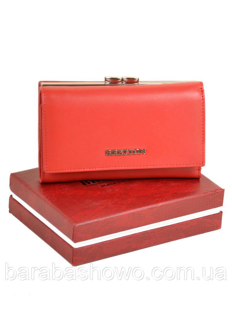 Кошелек Color женский кожаный BRETTON W5520 red