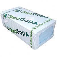 Экструдированный пенополистирол ЭКОБОРД 1200×600×40мм (0,72м2)