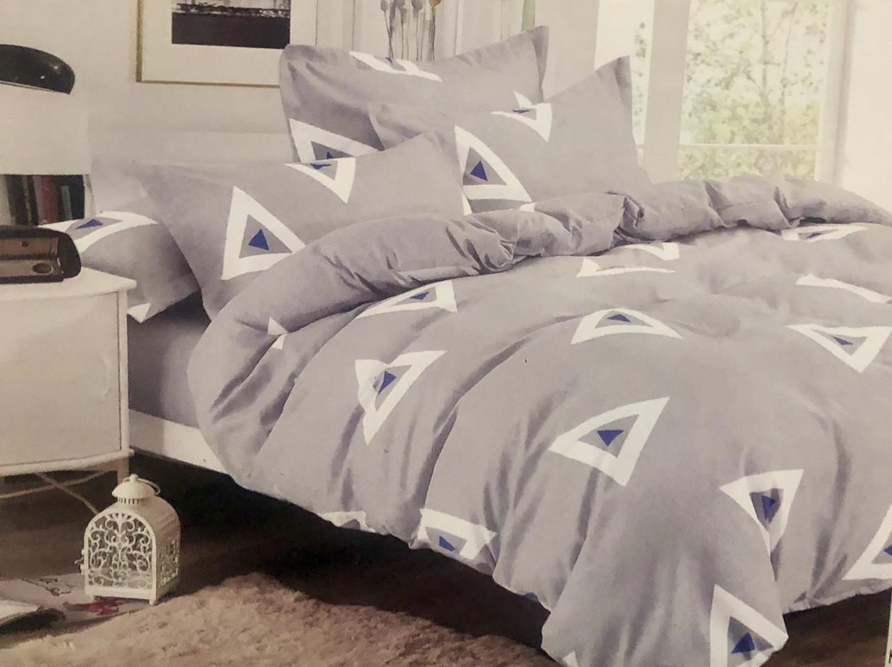 Комплект постельное белье фланель 180×200 полуторка