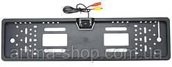 Камера заднего вида с держателем для номера ARTMA - CAR View