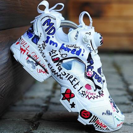 Мужские и женские кроссовки в стиле Vetements x Reebok Insta Pump Fury e75b4508792ae