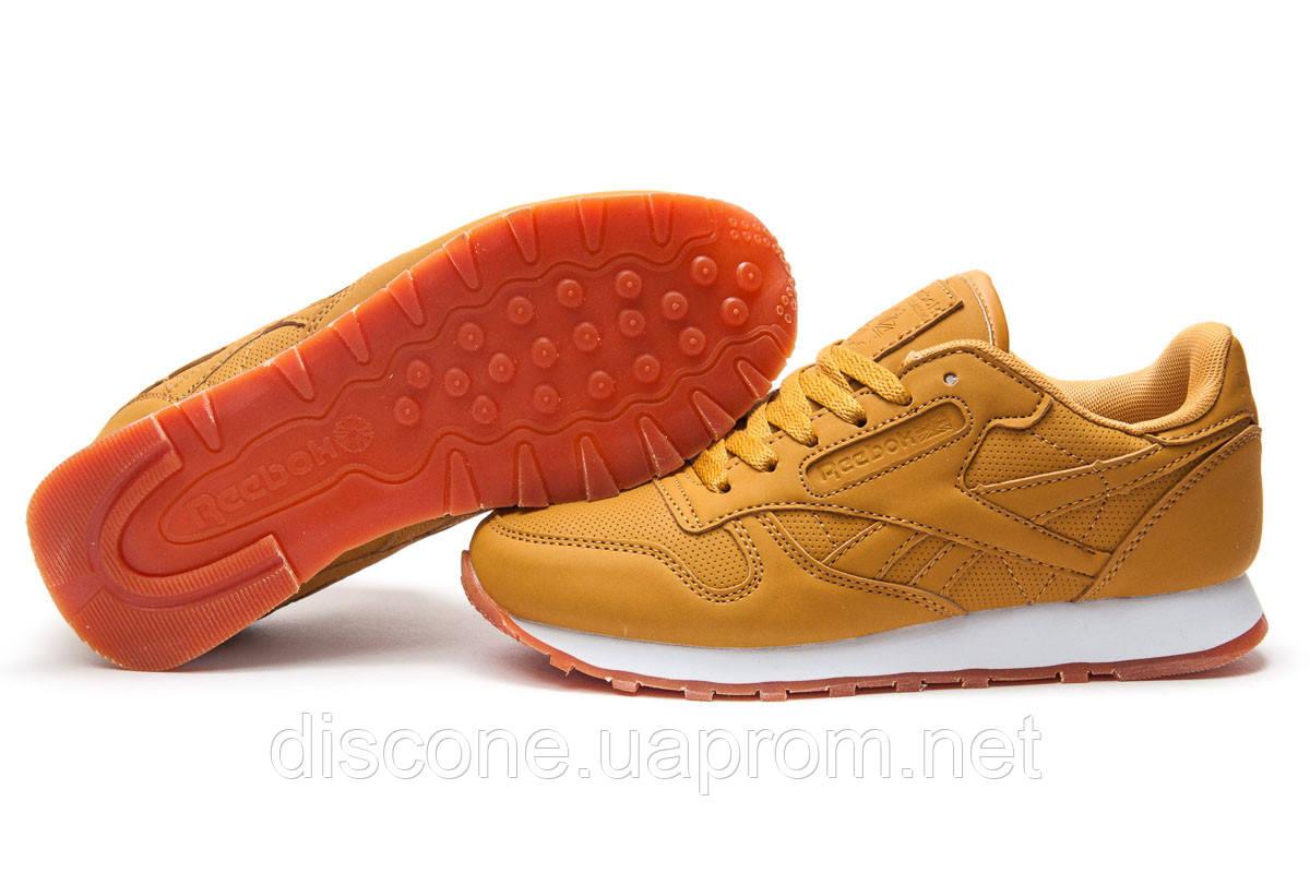Кроссовки женские ► Reebok Classic,  желтые (Код: 12833) ►(нет на складе) П Р О Д А Н О!