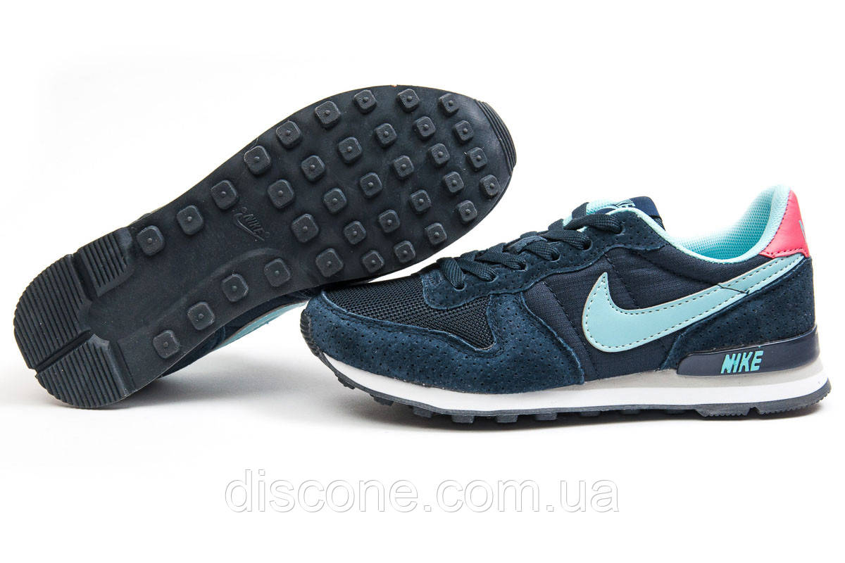 Кроссовки женские 12921 ► Nike Internationalist, темно-синие ✅Скидка 39% ► [ 36 38 41 ]