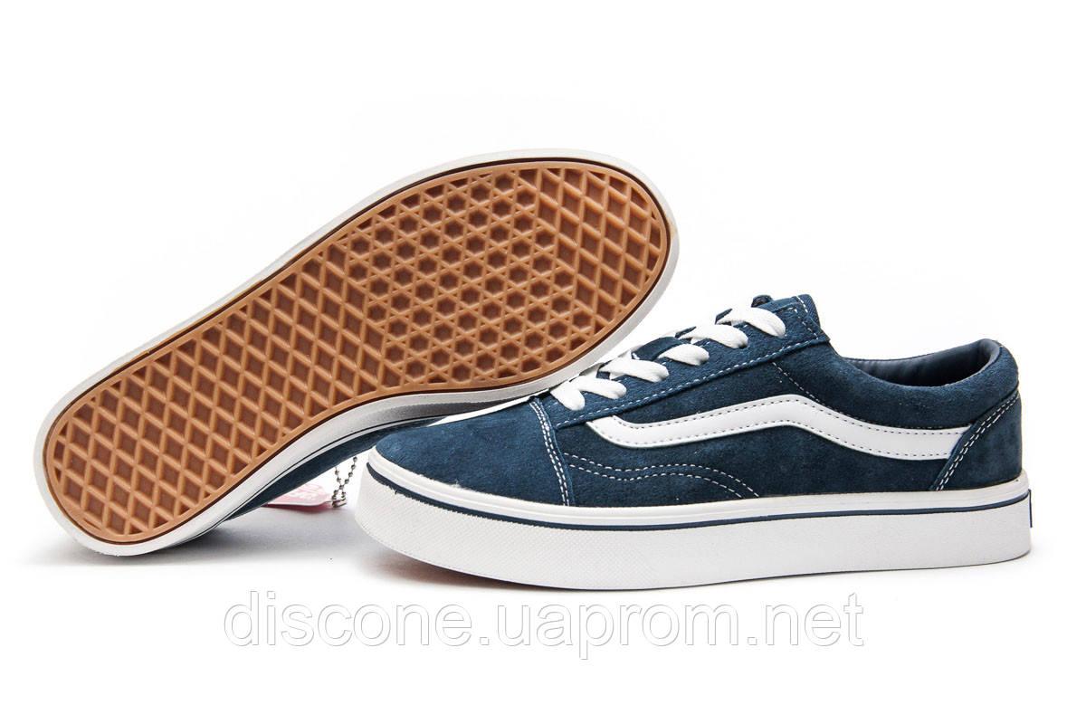 Кроссовки женские ► Vans Old Skool,  темно-синие (Код: 12932) ► [  37 38  ] ✅Скидка 45%