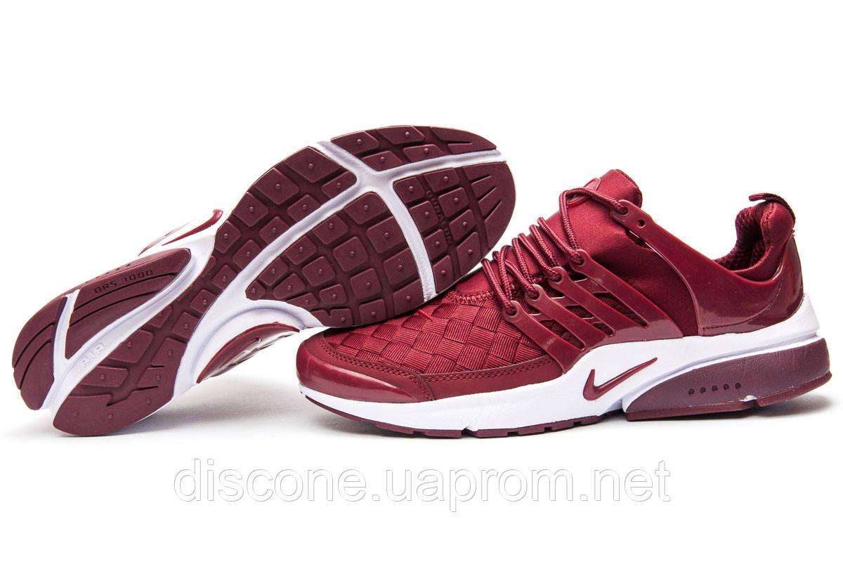 Кроссовки мужские ► Nike Air Presto BRS 1000,  бордовые (Код: 13075) ►(нет на складе) П Р О Д А Н О!