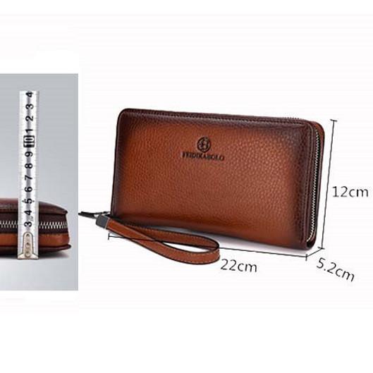 bf018683a7b6 Мужской клатч кошелек с ремешком очень вместительный - купить по ...