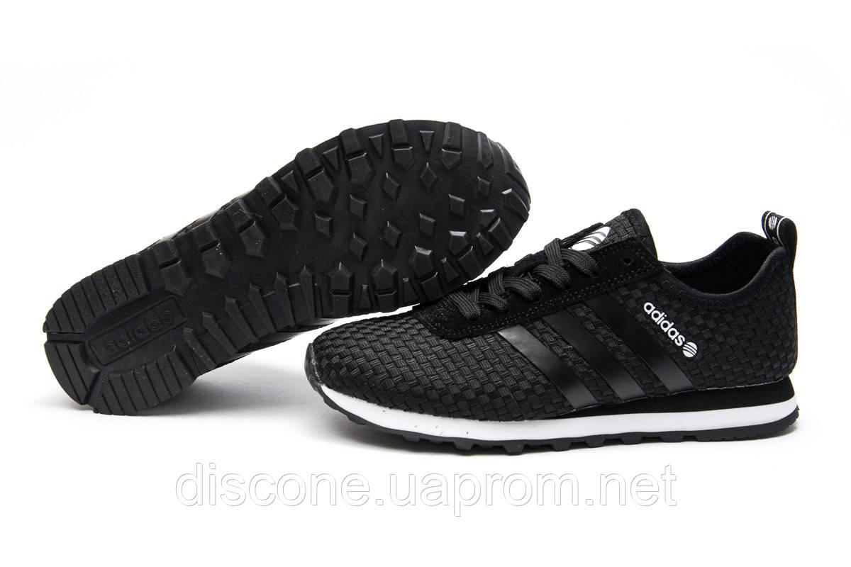 Кроссовки женские 13411 ► Adidas Lite, черные ✅SALE! 39% ► [ 40 ]