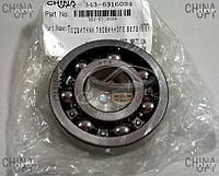 Подшипник первичного вала КПП, передний, Geely CK1 [до 2009г.], 343-6316004, Original parts