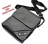 Мужская чоловіча кожаная сумка барсетка борсетка DIWEILU на подарок, фото 1